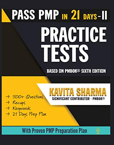 PMP Practice Tests (Pass PMP in 21 Days Book 2) (English Edition)