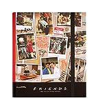 Grupo Erik Carpeta 4 anillas troquelada premium Friends