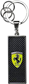 Branded Sports Merchandising B.V. Scuderia Ferrari F1 Black Metal Keyring