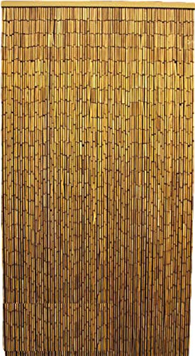 """Master Garden Products Natural Beaded Bamboo Curtain, 36""""W x 78""""H"""