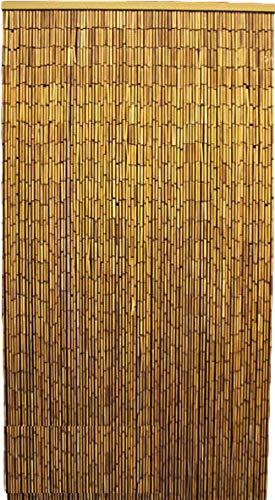 MGP Natural Beaded Bamboo Curtain, 36' W x 78' H