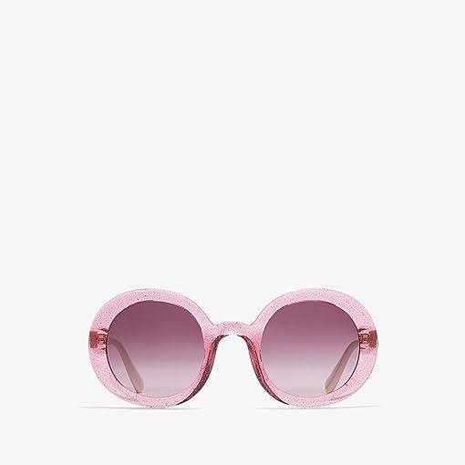 Transparent Glitter Pink/Light Pink Gradient