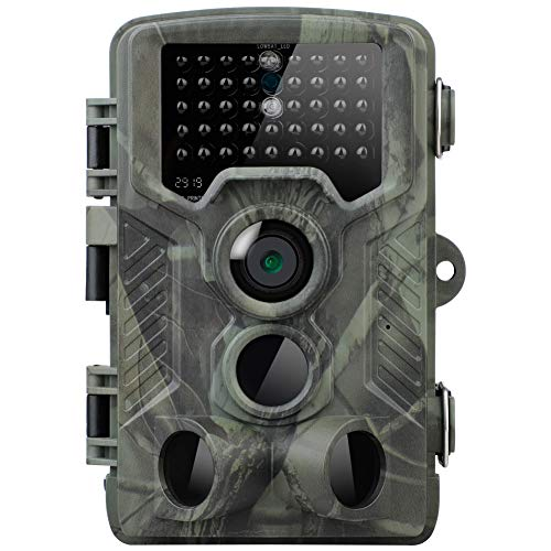 Xueliee [2019 Upgraded Trail Cam Game Camera for Hunting Wildlife Tracking,20MP Hunting Trail Camera HD 1080P 42LED Wildlife Scouting Cam Night Vision IR Camera