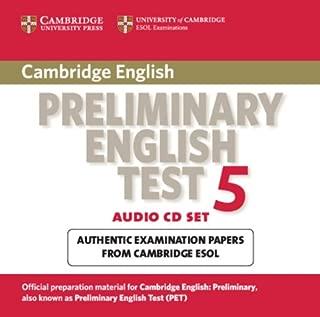 Cambridge Preliminary English Test 5 Audio CD Set (2 CDs) (PET Practice Tests)