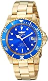 Invicta Men's Connection Automatic-self-Wind Watch with Stainless-Steel Strap, Gold, 20 (Model: 24763)
