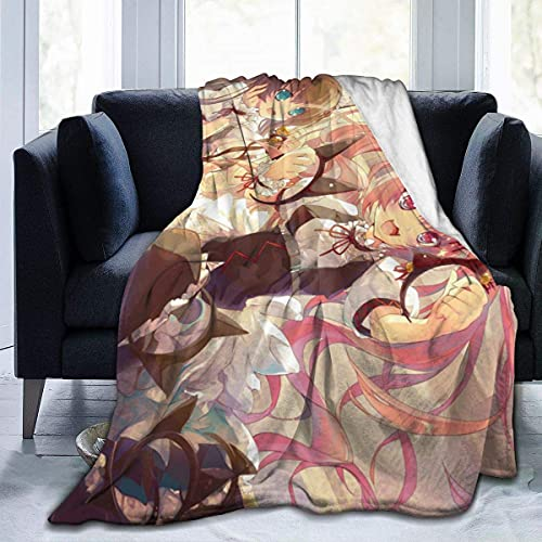 Steins Gate Faris - Manta de forro polar suave para dormitorio (80 pulgadas x 60 unidades)