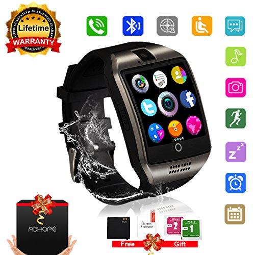smartwatch bambino uomo, Sport Smartwatch Smartwatch Android Bluetooth Contapassi orologio sonno Fitness per iPhone Samsung IOS Huawei SIM sostegno scheda TF Telecamera