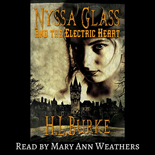 Nyssa Glass and the Electric Heart  By  cover art