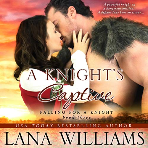 A Knight's Captive  audiobook cover art