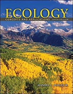 Ecology: Concepts and Applications by Molles, Manuel [McGraw-Hill Science/Engineering/Math, 2012] ( Paperback ) 6th edition [Paperback]