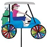 Premier Kites 17 in. Lady Golf Cart Spinner