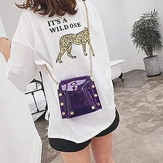 HAWEEL Anti-Theft Classic Retro Messenger Travel Small Square Bag Single Shoulder Bag Ladies Handbag Messenger Bag (Colour) Sling Crossbody Mini Purse One Size