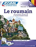 Le Roumain (Superpack): Book + 4CD audio + 1 cle USB