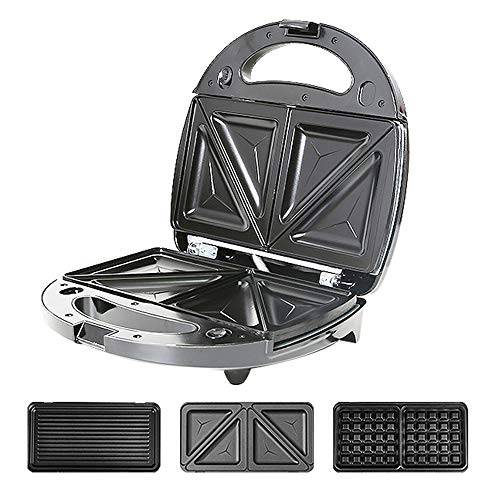 Buy Bargain LNTE Multifunction Waffle Makers Small Double Sided Heating Stainless Steel Panel Waffle...
