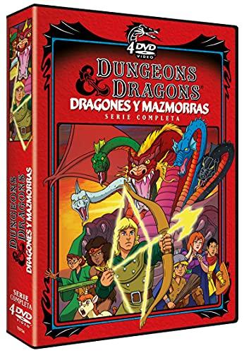 Dragones y Mazmorras (Serie de TV) 4 DVDs