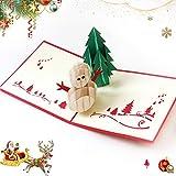 Sunshine smile Weihnachten Karten,weihnachtskarten,Klappkarten Grußkartenfür Frohe Weihnachten,Weihnachten Karten personalisiert,Klappkarten,Grußkarten,Handmade Weihnachtsgrußkarte-Frohe Weihnachten