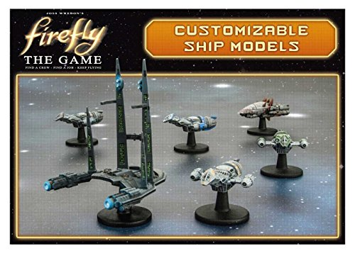 Gale Force Nine GF9FIRE7 Brettspiel Firefly: Customizable Ship Models