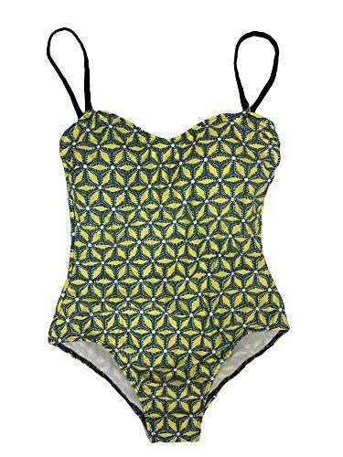 Roberta Roller Rabbit Women's Kalei Bustier 1-Pc Swimsuit X-Small Lime