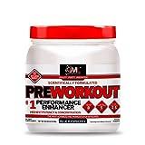 Advanced Molecular Labs - Pre Workout Powder, Increases Drive, Performance Enhancer, Blue Raspberry, 18.34 oz