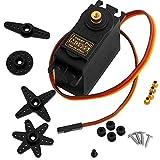 AZDelivery MG995 Micro Digital Servo Motor para RC Robot Avin Helicptero para Arduino con ebook Gratis!