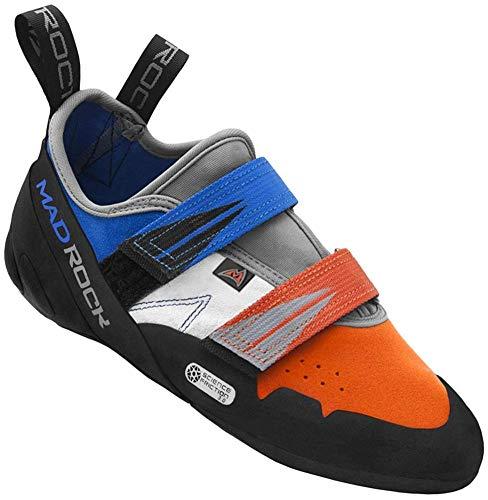 Mad Rock Agama Climbing Shoe - Blue/Orange 11.5