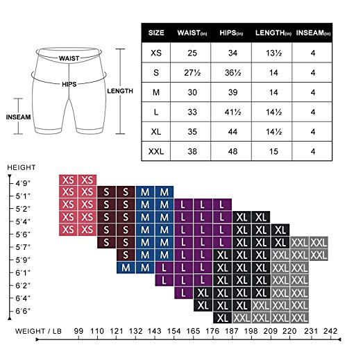 NexiEpoch Yoga Shorts for Women - High Waist Tummy Control Stretch Biker Shorts with Side Pockets for Workout, Training (4