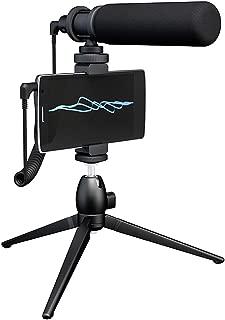 Smartphone DSLR Camera Computer Shotgun Video Microphone MAONO CM10S Super-Cardioid Condenser Detachable External Vlogging Interview Mic with Tripod for Canon, Sony, Nikon, Camcorder, Phone, PC