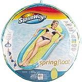 SwimWays - 6045237 - Spring Float Original - Matelas Gonflable de Piscine Semi Immergé en Tissu - Couleur Aléatoire