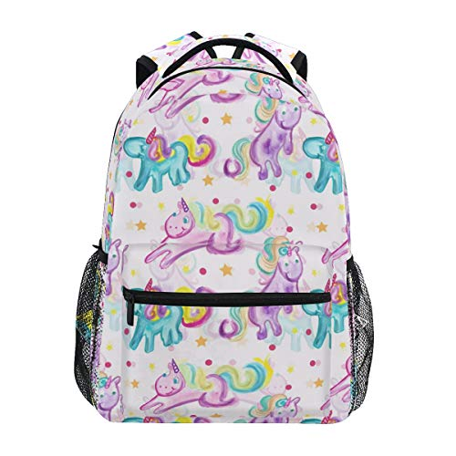 Cute Unicorn Backpack BookBag for Boys Girls Elementary School 2021817