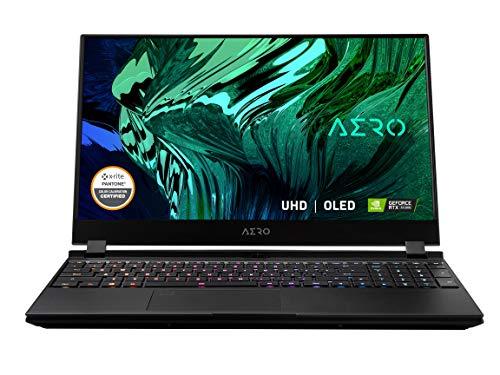 GIGABYTE AERO 15 OLED KC - 15.6' - Intel Core i7-10870H - NVIDIA GeForce RTX 3060 6GB GDDR6 - 16GB RAM - 512GB SSD - Windows 10 Pro - Creator & Gaming Laptop (AERO 15 OLED KC-8US5130SP)