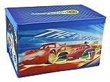 Disney Aufbewahrungsbox Kinder Truhe Spielzeugkiste Spielzeugtruhe Stoff mit Deckel 58x37cm