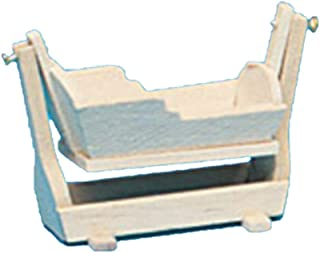 Dollhouse Miniature Hanging Cradle Kit- The Colonial Collection