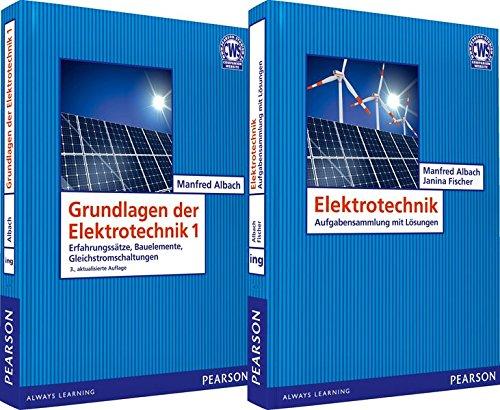 VP Grundlagen der Elektrotechnik 1 + Übungsbuch: Erfahrungssätze, Bauelemente, Gleichstromschaltungen (Pearson Studium - Elektrotechnik)