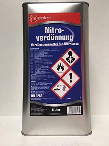reColor Nitroverdünnung, Universalverdünnung, 5 Liter