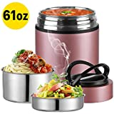 Upgraded 2020 Version Insulated Food Storage Container Thermos, KKD Food Jar Stainless Steel Vacuum...