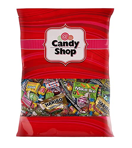 Candy Shop Assorted Candy Party Mix. - 1 Pound of Your Favorite, Blow Pops, Cherry Heads, Haribo...