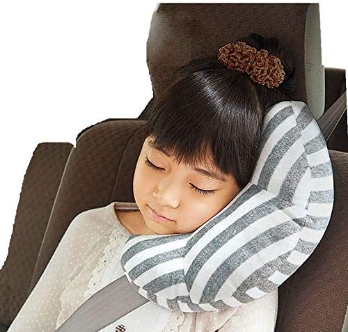 Seat Belt Pillow for Kids AMEMEWA Car Seatbelt Covers Children Road Trip Travel Cushion Double product image