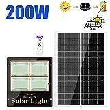Cccyb Solar Proyectores Led Exterior, Alto Poder Super Brillante Foco Led Solar Exterior al Aire Libre Impermeable Lámpara de Ingeniería de Construcción Luz del Patio (Size : 100W)