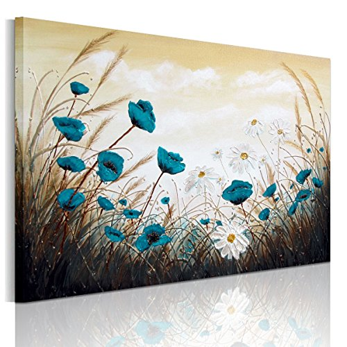 Rain Queen XXL HD - Lienzo impreso con imagen de naturaleza (bastidor de madera, cuadro listo para colgar)