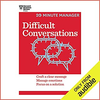 Difficult Conversations audiobook cover art