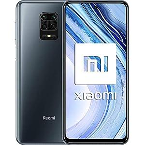 """Xiaomi Redmi Note 9 Pro - Smartphone de 6.67"""" (DotDisplay, 6 GB RAM, 128 GB ROM, 64 MP AI Quad cámara, batería de 502 0mAh) Glacier White [Versión global]"""