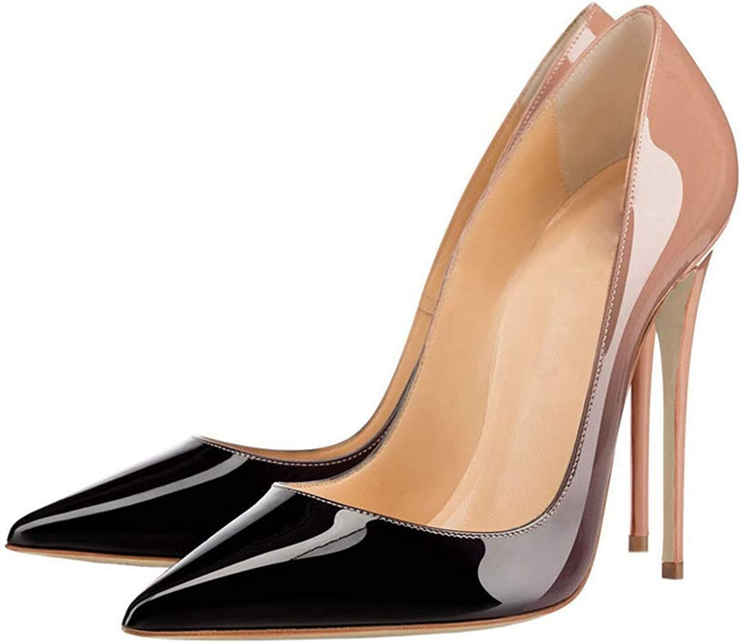 Stiletto Sandals Women Outdoor Pointed Toe Slip-on Ladies Party High Heels Sandal