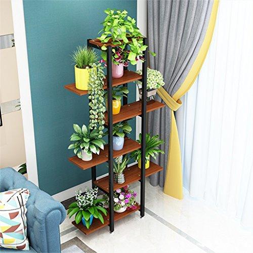 6 niveaux fleur/supports d'usine/étagère cadre en métal jardin plante affichage pour 11 Pots de plantes porte étagères/support jardin étagère d'intérieur unité pour salon bureau balcon 78x24x147