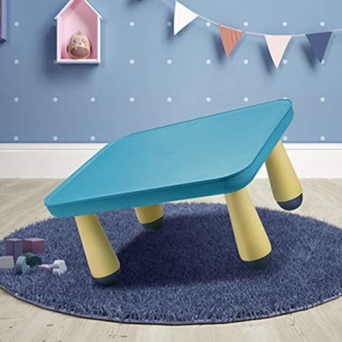 Table pour enfants Activité enfants Table enfants de Multifonctionnel en plastique Table de jeu Toy Table rectangulaire Table d'apprentissage des élèves Table ( Color : Pink , Size : 46x35.5x23.5cm )