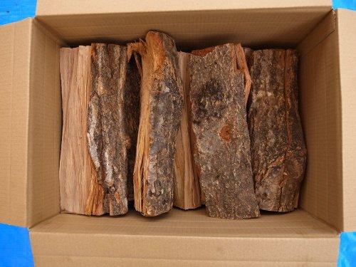 安全高品質な乾燥ナラ薪長さ30cmの小割(ピザ窯仕様)1箱20kg