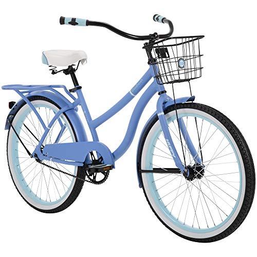 Huffy Woodhaven 24 Inch Women's Cruiser Bike - Matte Periwinkle