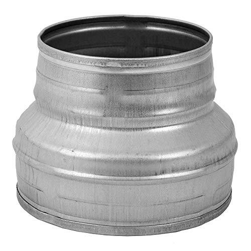 Reductor Redondo, Reductor de conductos, Reductor de tuberías de acero galvanizado (drenaje, residuos y ventilación) Acoplamiento...