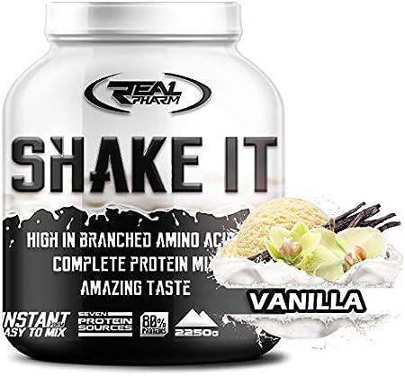 Real Pharm Shake It proteína de suero de múltiples mezclas + ...