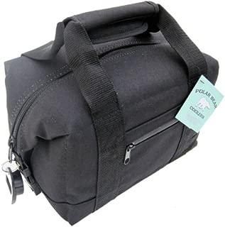 Polar Bear Coolers 6 Pack Soft Cooler, Black