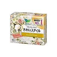 【花王】ロリエ きれいスタイル スパークリングフルーツの香り 72個入 ×3個セット